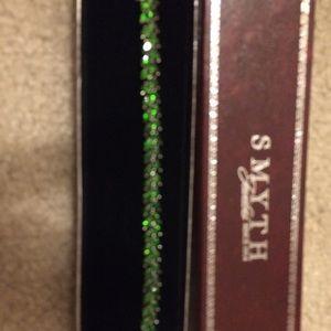 Jewelry - Green chrome diopside gemstone bracelet